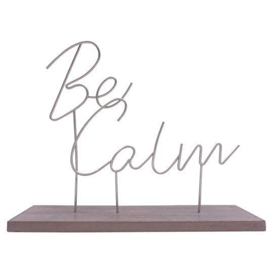 Fox & Ivy Bumble Bee Be Calm Plaque