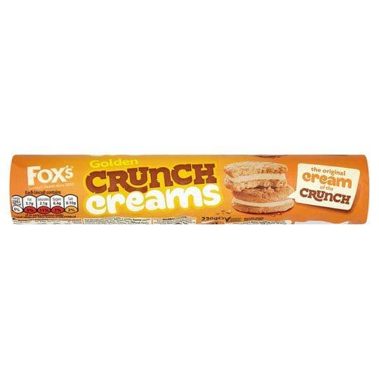 Foxs Golden Crunch Creams 230g