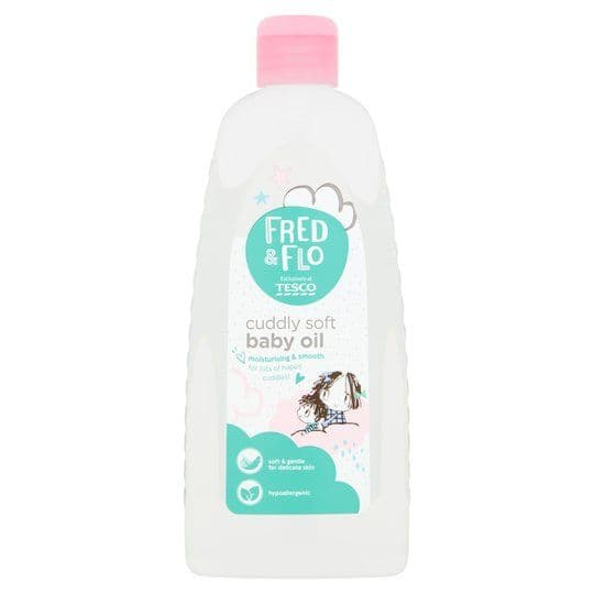 Fred & Flo Baby Oil 500ml