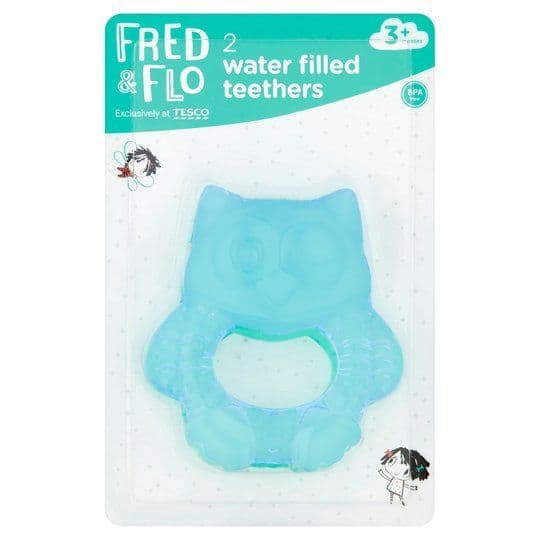 Fred & Flo Water Filled Teethers 2pk