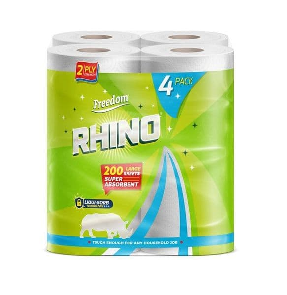 Freedom Kitchen Towel Rhino 4 Rolls