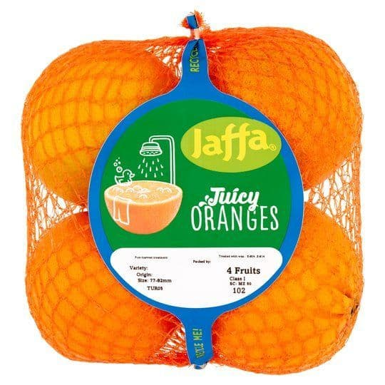Fresh Oranges 4 Pack Jaffa