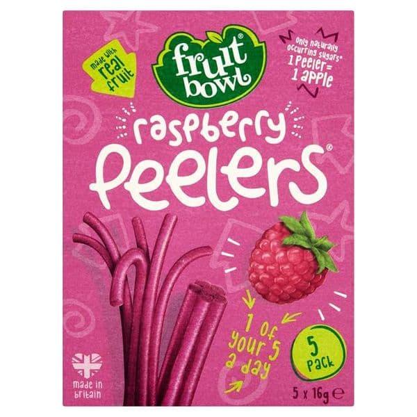 Fruit Bowl Raspberry Peelers 5x16g