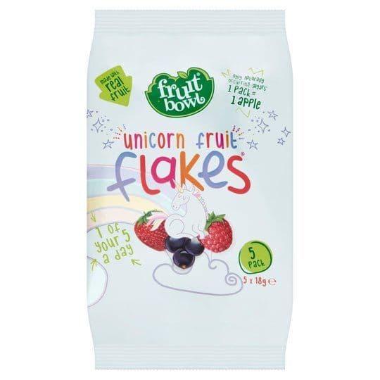 Fruit Bowl Unicorn Fruit Flakes 5x18g