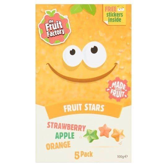 Fruit Factory Multi Fruit Stars 5pk 100g