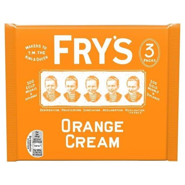 Frys Orange Cream 3pk