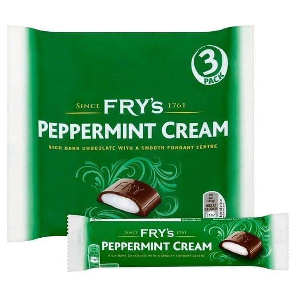 Frys Peppermint Cream 3pk