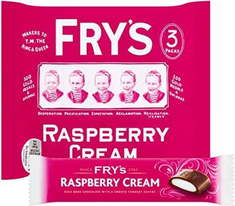 Frys Raspberry Cream 3pk