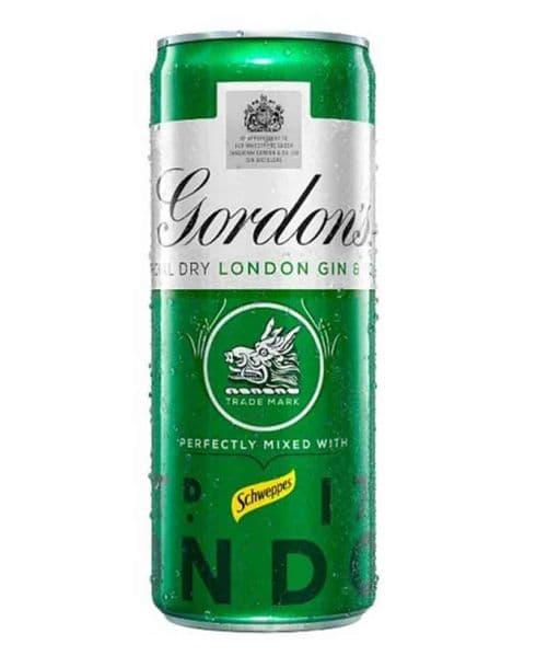 Gordons Gin & Tonic 250ml can