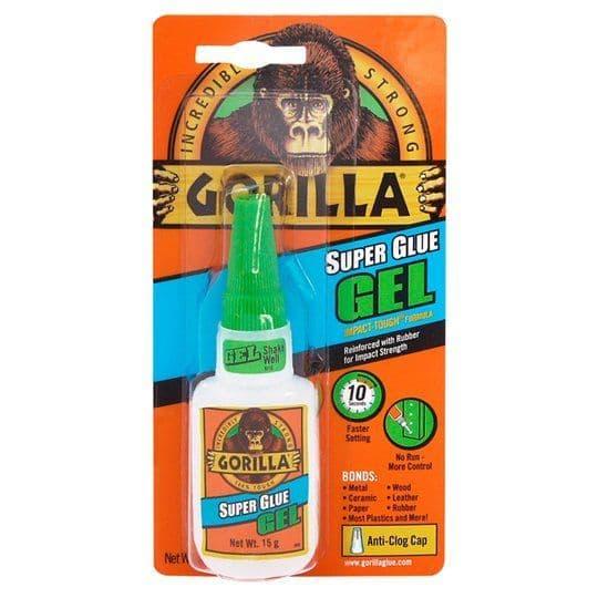 Gorilla Super Glue Gel 15g