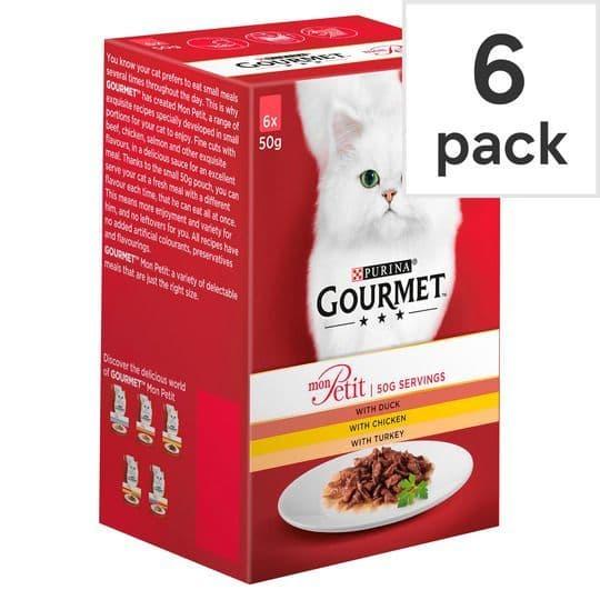 Gourmet Mon Petit Poultry Variety 6x50g
