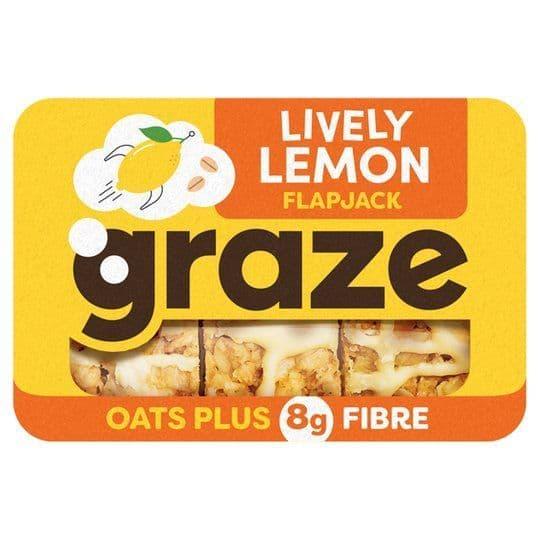 Graze Lemon Flapjack 53g