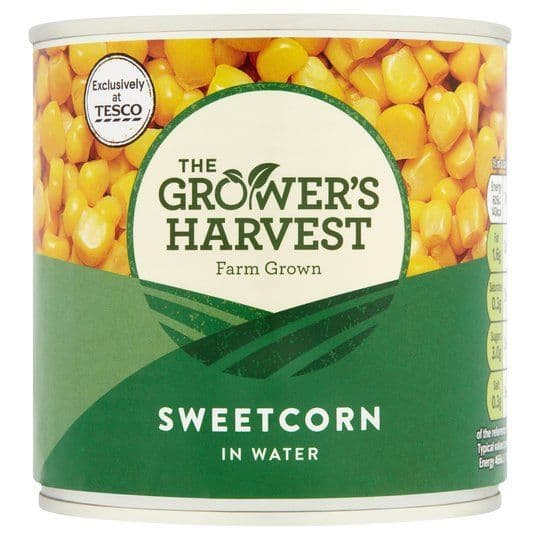 Growers Harvest Sweetcorn in Salt Water 325g