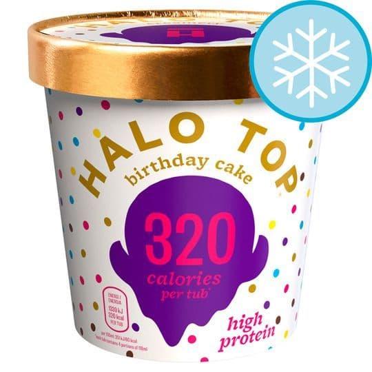 Halo Top Birthday Cake Ice Cream 473ml