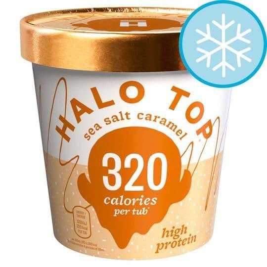 Halo Top Sea Salt Caramel Ice Cream 473ml