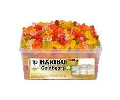 Haribo Gold bears Tub