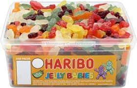 Haribo Jelly Babies Tub