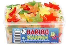 Haribo Starfish Tub