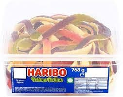 Haribo Yellow Bellies Tub