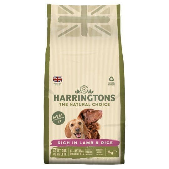 Harringtons Complete Lamb & Rice 2kg
