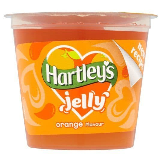 Hartleys Ready To Eat Orange Jelly 125g
