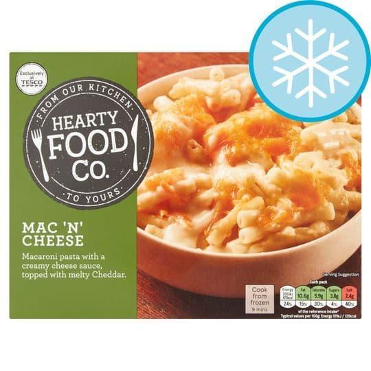Hearty Food Co. Mac 'N' Cheese 400g