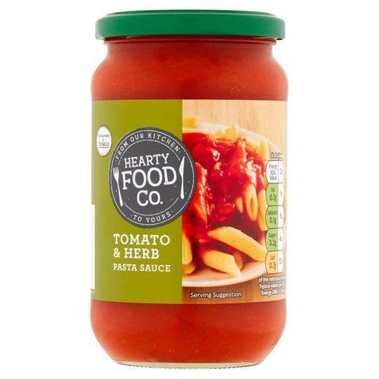 Hearty Food Co. Tomato & Herb Pasta Sauce 440g