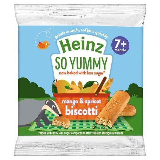 Heinz Biscotti Mango & Apricot 60g