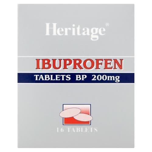 Heritage Ibuprofen Tablets 16pk