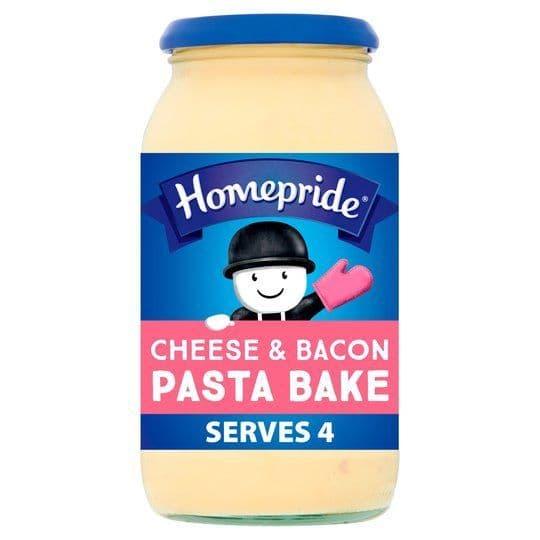 Homepride Cheese & Bacon Pasta Bake 485g