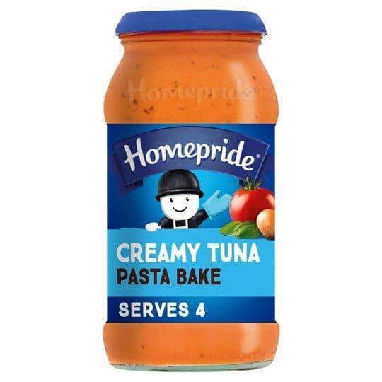 Homepride Creamy Tuna Pasta Bake 485g