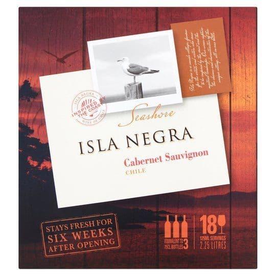 Isla Negra Cabernet Sauvignon Boxed Wine 2.25L