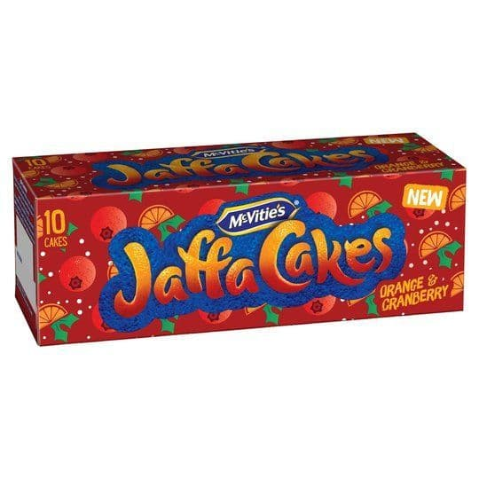 Jaffa Cakes Orange & Cranberry 10pk