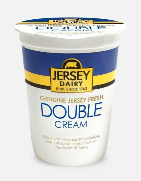 Jersey Dairy Double Cream 250ml