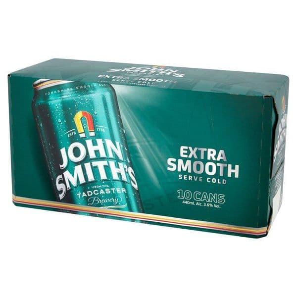 John Smiths Extra Smooth 3.6% 10x440ml