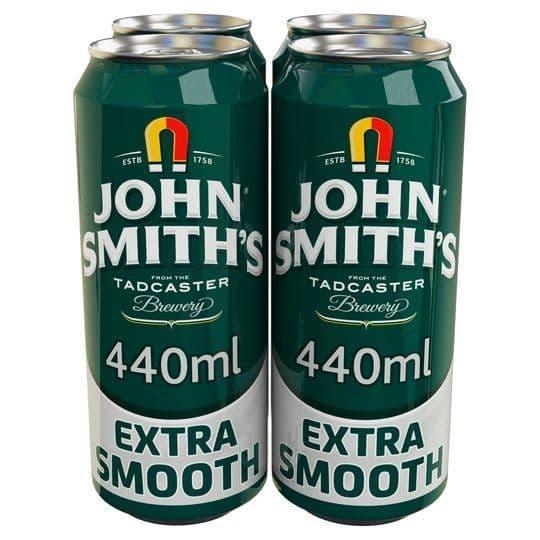 John Smiths Extra Smooth 4x440ml