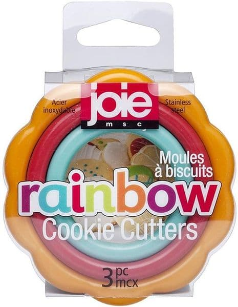 Joie Rainbow Cookie Cutters