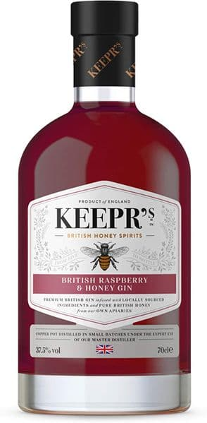 Keepr's British Raspberry & Honey Gin 70cl