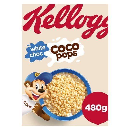 Kelloggs White Coco Pops 480g