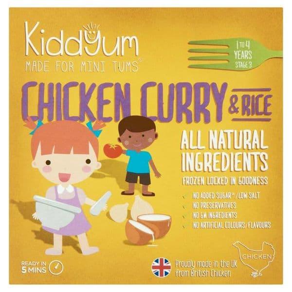 Kiddyum Frozen Chicken Curry 200g