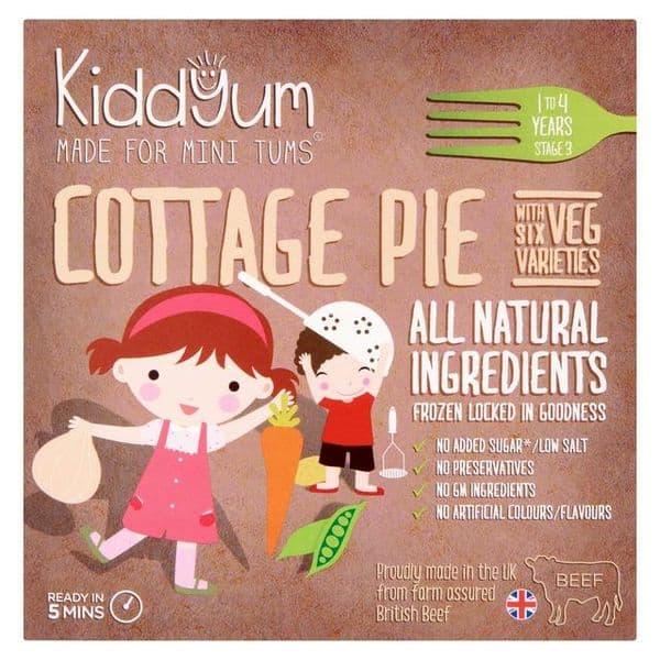 Kiddyum Frozen Cottage Pie 200g