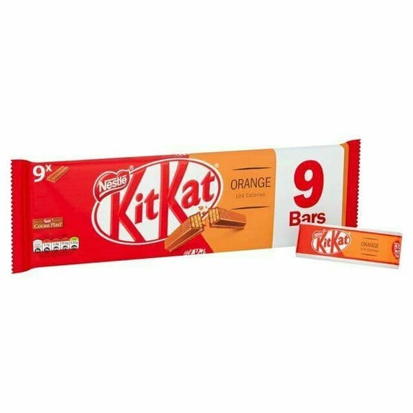 KitKat 2 Finger Orange 9pk
