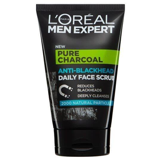 L'Oreal Men Expert Charcoal Face Scrub 100ml