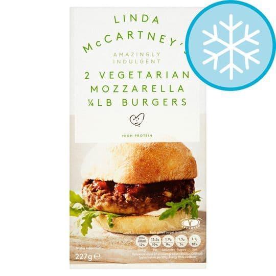 Linda McCartney Mozzarella Burgers 227g