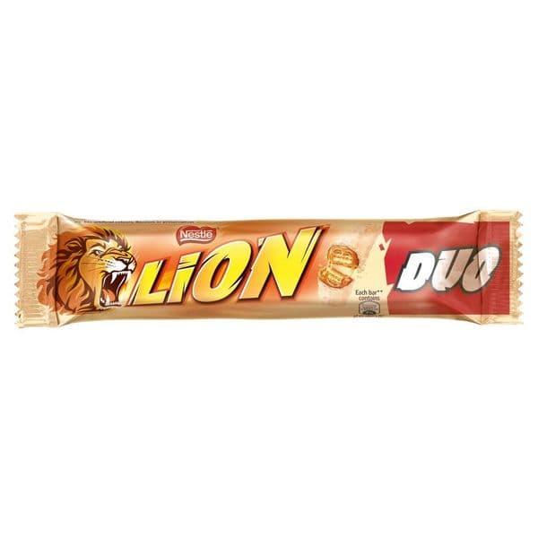 Lion White Chocolate Duo Bar 60g