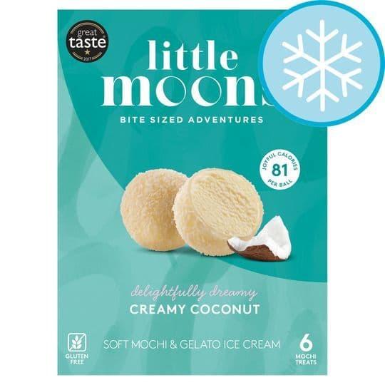 Little Moons 6 Creamy Coconut Treats 192g