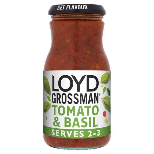 Loyd Grossman Tomato & Basil Sauce 350g