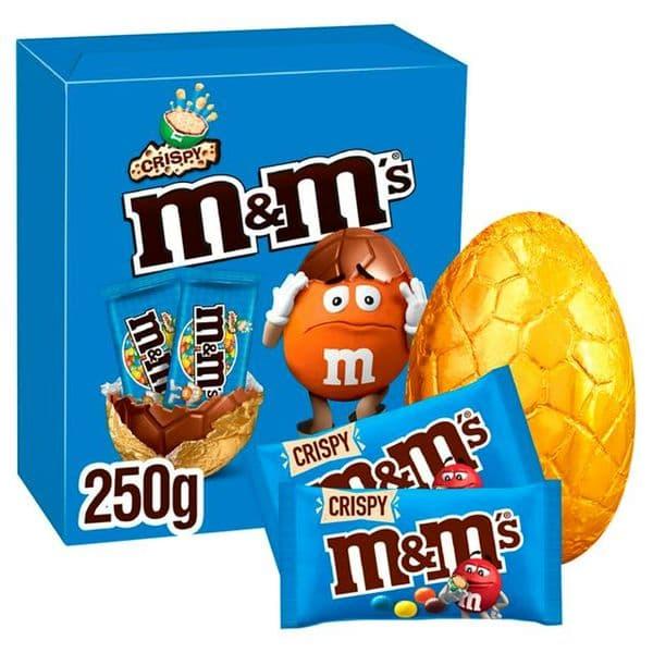 M&M Crispy Large Egg 250g