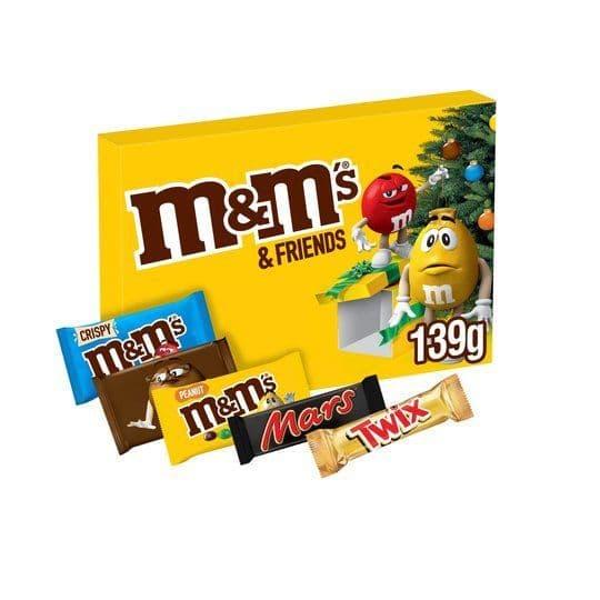 M&M Selection Box 139g