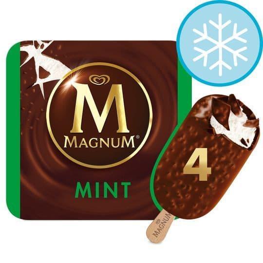 Magnum Mint Ice Cream 4 Pack